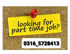 Part time job from matric to above all students