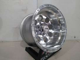 HSR DUFFY R15 H6X139,7 for panter new, strada, triton, fortuner, dll