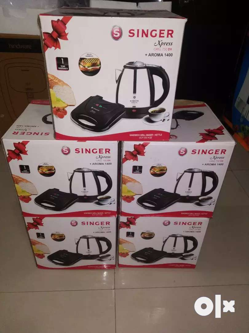 BRAND NEW BOX PACK SINGER XPRESS ELECTRIC KETTLE COMPANY ONLY RS 2200