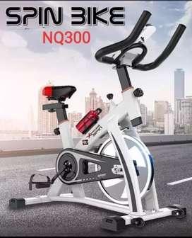 Sepeda fitnes spinning bike harga terjangkau