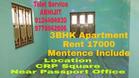2BHK Apartment Only Family Near Passport Office unit8 CRP