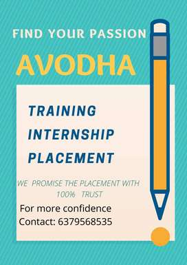 AVODHA ACADEMY- JOB FOR ALL TYPE OF GRADUATES