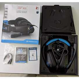 sennheiser gsp 300 gaming headset headphone gsp300 ps4 pc mac with mic