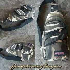 Jansport army tas dada