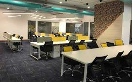 Plug N Play 42 seater furnished office for Rent at New Palasia