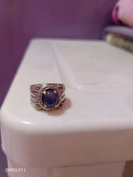 Cincin blue safir