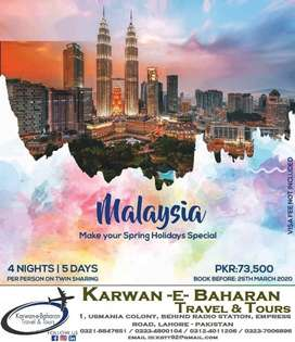 We deal in all airline tickets , umrah, tours , work visa's immigratio