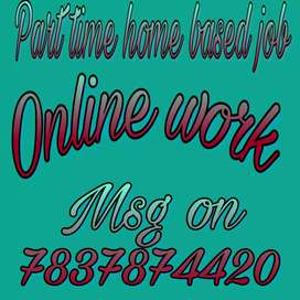 Part time / full time online jobs for limited seats...