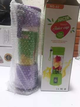 New 6 Blades USB cable rechargeable Juicer for outdoor use and picnic