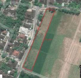Tanah Sukoharjo Solo Luas 2710 m2. SHM
