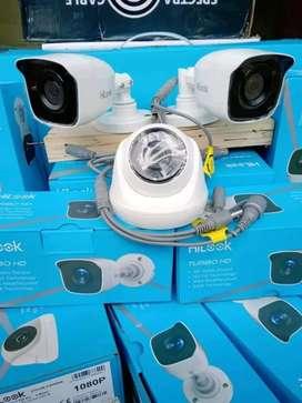 PASANG CCTV KAMERA 1080P 2MP KOMPLIT