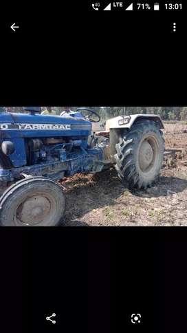 FARMTRACK 60 TRACTOR 2007 MODEL MORADABAD NO WITH 90% MRF TYRE URGENT