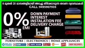 Furniture & Electronics at 0% EMI and Free Delivery in Trivandrum