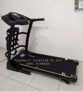 Treadmil electrik bergaransi _ TL 636 alat olah raga