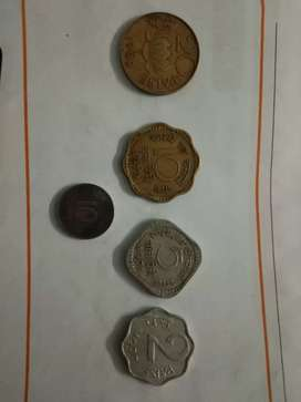 Old coins collections