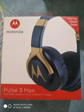Motorola Pulse 3 Max Headphone