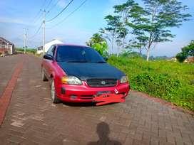 Jual mobil sedan Baleno 2002