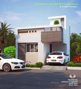 villas for sale => near sriperumbudur toll plaza