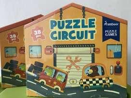 Mainan Puzzle Anak - Mideer Puzzle Circuit