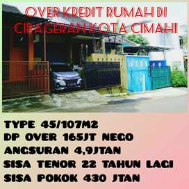 Take Over Kredit CIMAHI CIPAGERAN Free CANOPY Dan Pagar Main Road