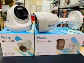 paket lengkap kamera cctv 2mp full hd indoor autdoor bisa konek ke hp