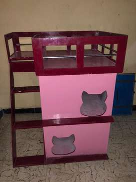 Luxury cat house