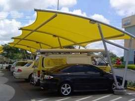 Kami bengkel las nerimah pemasangan kanopi atap membarane dll$$2066