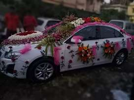 Chevrolet Cruze Automatic With SunRoof available for Marriage/Wedding.