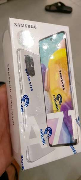 Samsung A71 Box pack with( Free )New power bank