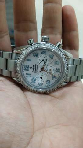 Chronograph o m e g a Watch Crystal Clear Brand new condition