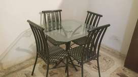 Rod Iron Dining Table