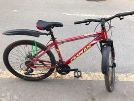 Caspian bicycle red brand new only use once