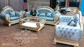 set sofa tamu klasik luxury class by pirantie meubel jepara kode DK-01