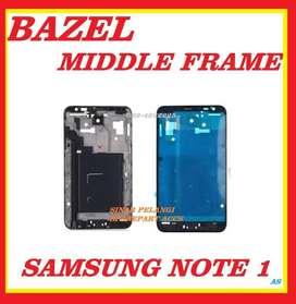 Bazel Bezel Middle Tulang SAMSUNG NOTE 1 (I9220/N7000) White Original