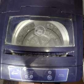 Godrej fully automatic washing machine.