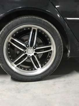 18 inch Alloy Rims and Tyres PCD 114 18""