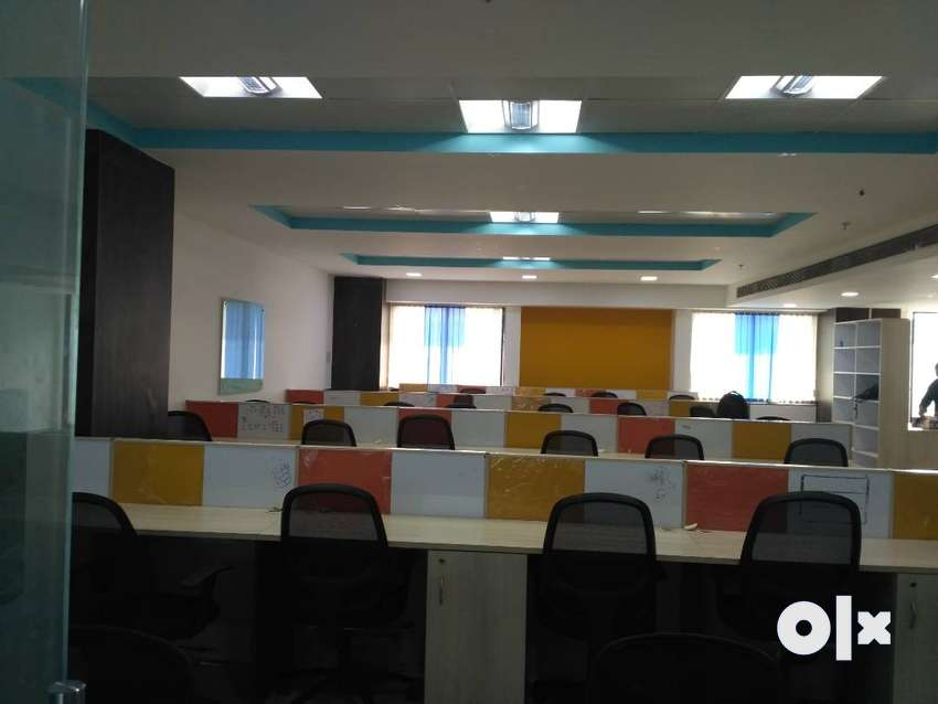 2900 sqft furnished office for rent in wakad 0