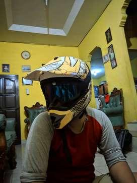 Helm cross merk Cargloss size XL