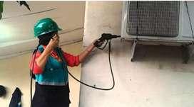 Pelayanan perbaikan ac bocor air ac kurang dingin pasang ac isi preon