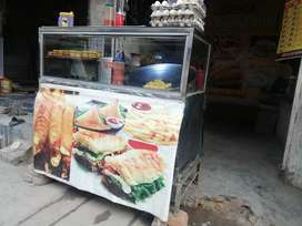 Counter for chips burger & Shwarma etc