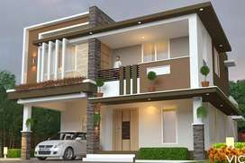Come to Independent Luxury 4BHK VILLA-For SALE Close to Ottapalam Town