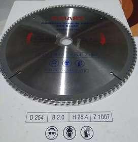Mata Potong Alumunium Kayu 10 inch 100T Circular Saw Blade 254 C-MART