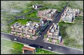 Big carpet area flats with RERA RESISTRATION 72 Buildings Complex.