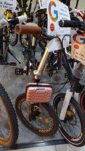 "Sepeda lipat pasific splendid 300 20"" promo weekend DP bebas admin"
