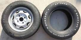 "13"" tubeless tyres 165/80 r13 General Xp-2000 original"