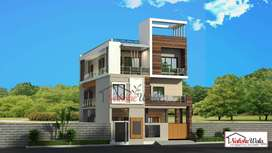 8 marla double cum duplex house 4 bhk facing north east for sale in s