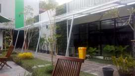 Kanopi Baja Ringan Galvalum Pasir Canopy Solarflat Alderon Onduline