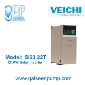 Home Water Pumps VFD Inverter. VEICHI 22 Kw VFD for Solar Tubewell