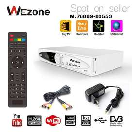 WEZONE 8007-FREE TO AIR-SIM-SUPPORTED HD-SET-TOP-BOX