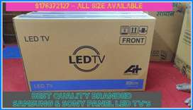 Offer Price 32inch LED TV's SAMSUNG Panel Delivery Available Chennai